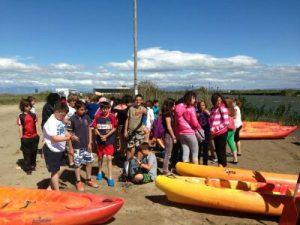 Kayak al delta de l'ebre