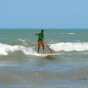 Pàdel surf al delta de l'Ebre